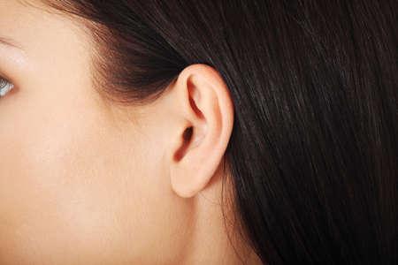 Human ear closeup  版權商用圖片