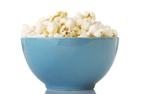Popcorn in bowl Stock Photo - 18070220