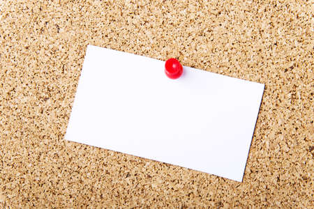 Note paper on cork board  Stock Photo - 18070269