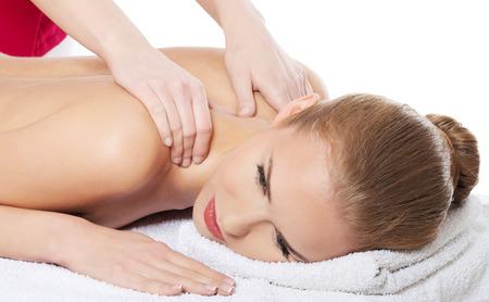 se faire masser par une femme