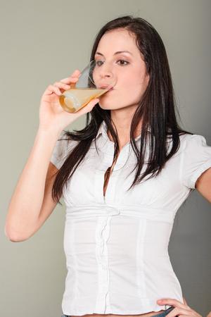 Vitamin C fizzy drink Standard-Bild - 127496046