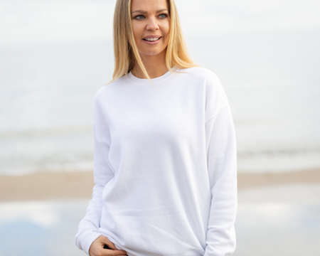 White blouse for mockup