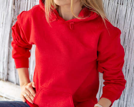 Red hoodie for xmas