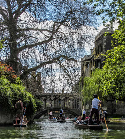 punting: Punting in Cambridge