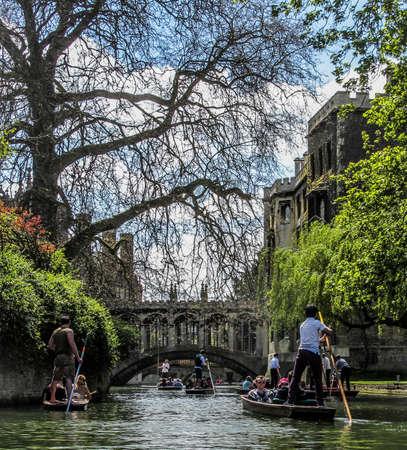 punt: Punting in Cambridge