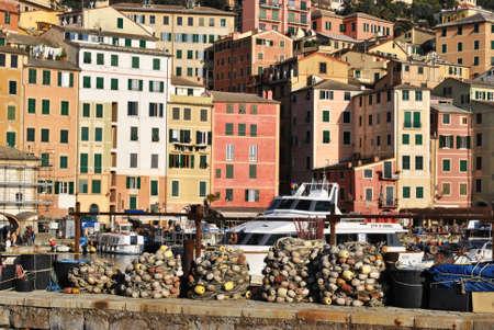 liguria: Fishing nets in Liguria