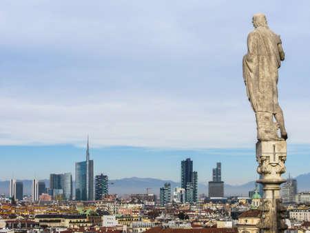 Skyline of Milan (Porta Nuova area)