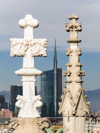 steeples: Steeples in Milan