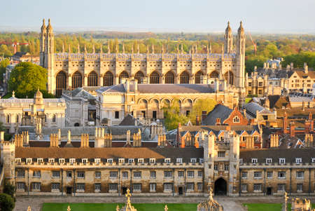 Vista de Cambridge \ Foto de archivo - 36802715