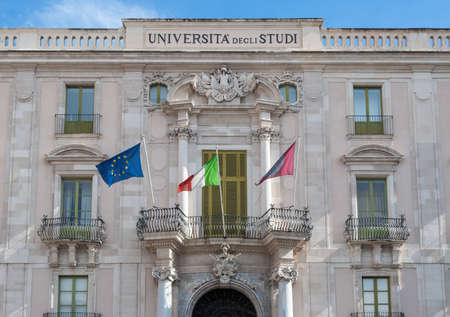 The main building of the University of Catania Editorial