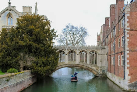 punting: Punting on the river Cam