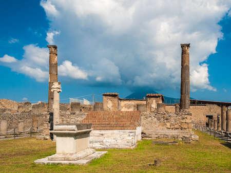 apollo: Temple of Apollo in Pompeii