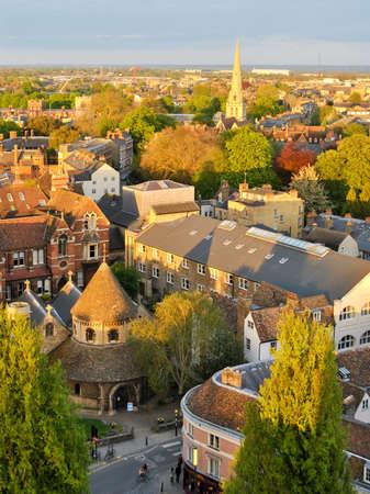 cambridge: Aerial view of Cambridge