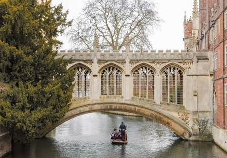 punter: The Bridge of Sighs, in Cambridge UK