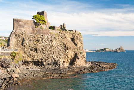 norman castle: The norman castle of Acicastello
