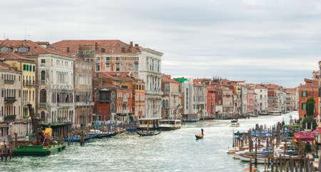 grande: The Canal Grande in Venice Stock Photo