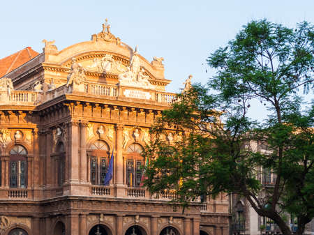 catania: The opera theater, called Teatro Bellini, in Catania