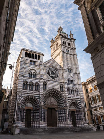 The San Lorenzo cathedral of Genoa Editorial