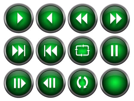 Twelve Music Buttons photo