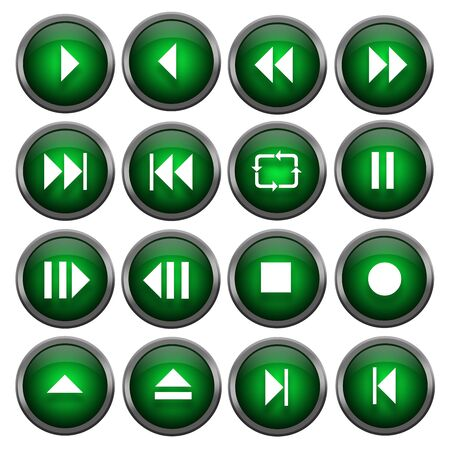Sixteen Music Buttons photo
