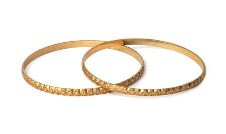 Gold bracelets Stock Photo - 6754397