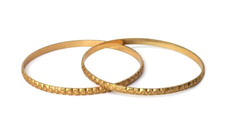Gold bracelets Stock Photo - 6754397