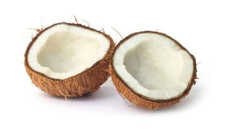 Coconut for oil preparing Imagens