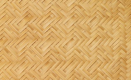 Texture of fabricated bamboo barks photo