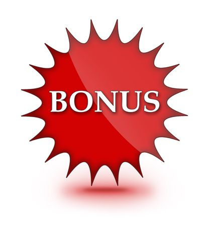 Web sign of BONUS Stock Photo - 7413640
