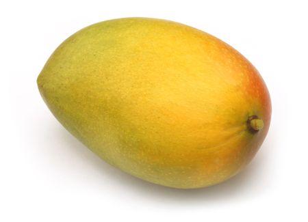 produce: Ripe Mango Stock Photo