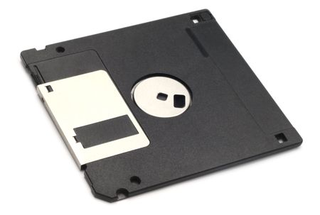 Old floppy disk photo