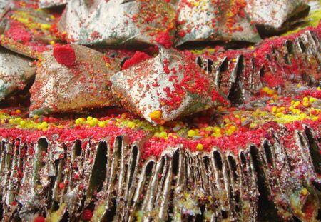 betelnut: Decorated edible betel leaf for festivals