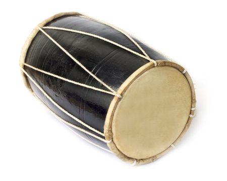 instrumentos musicales: Tambor de m�sica nativa de la India
