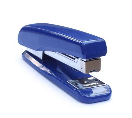 Blue stapler photo