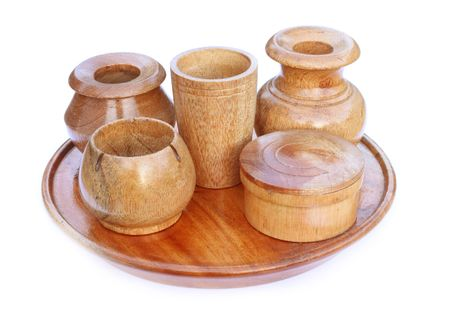 Wooden kitchenware for decoration Stock Photo - 8038989