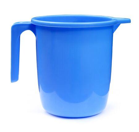 Plastic bathroom mug Stock Photo - 8358132
