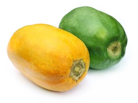 Two papayas photo