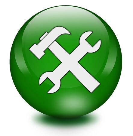 administrative: Tools icon Stock Photo