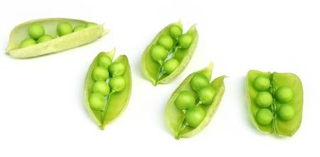 Green peas on beans Stock Photo - 8879850