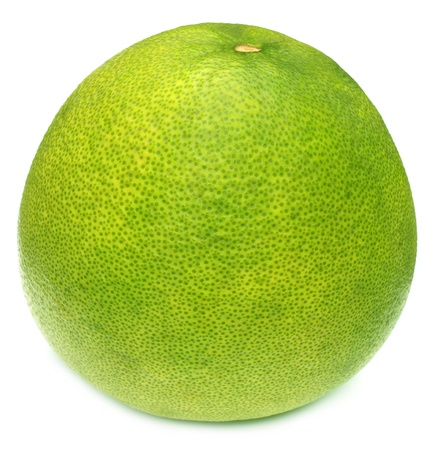 citrus maxima: Shaddock over white background