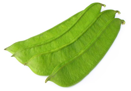 Large flat beans of Southeast Asia Stock Photo