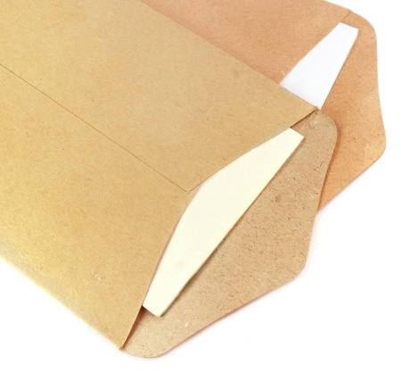Two open envelopes photo