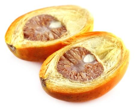 Sliced betel nut over white background Stock Photo - 11512559