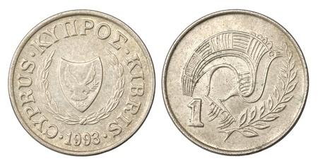 kibris: Cyprus 1 Cent Coin of 1993