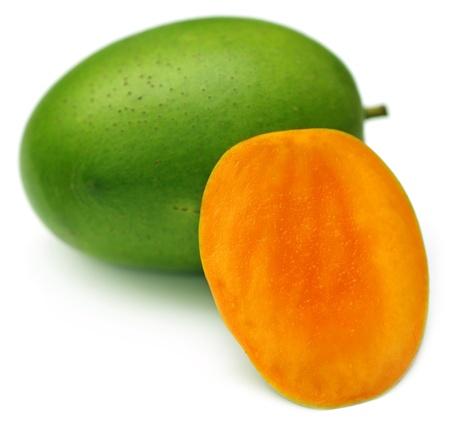 subcontinent: Juicy Langra Mangoes of Inidan Subcontinent