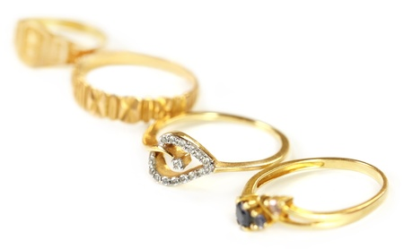 Wedding gold jewelry for Indian bride  photo