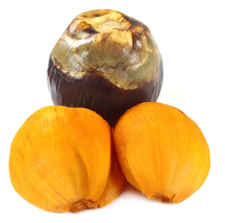 tal: Borassus flabellifer or Tal fruit Stock Photo