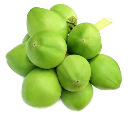 noix de coco: Noix de coco verte