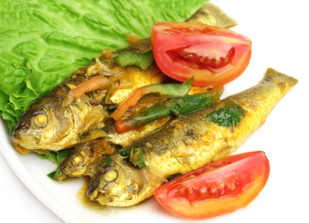 Tatkini fish curry of Indian subcontinent Stock Photo - 17610411