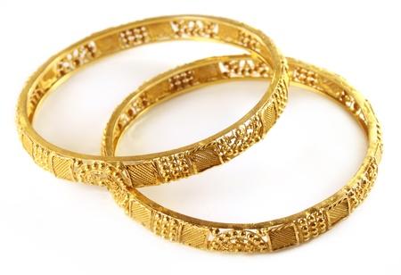Wedding gold bracelets for Indian bride  photo